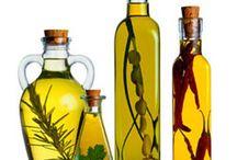azeite e vinagre aromarizados