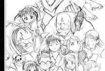 Arakawa Hiromu. Fullmetal Alchemist. sketch / sketch Arakawa Hiromu