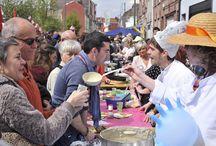 La fête de la soupe / Chaque premier mai, Wazemmes fait la fête avec le festival de la Louche d'Or