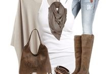 Outfits - shades of autum