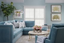 Contemporary Coastal / A relaxed and fresh style reminds us of summer days. The goal of this project was to bring coastal style with a relaxing atmosphere. Bright Caribbean blues invoke and energy that is reminiscent of life on the beach. The key to keeping this look contemporary is not to overloading the home every little beach related motif. The inspirations and tropical themed ideas on display here showcase a beautiful balance between staying true to coastal style yet still embracing sleek contemporary design.
