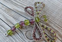Wire and bead