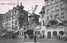 Moulin Rouge / The colorful Moulin Rouge epitomises the flamboyancy of the French culture!