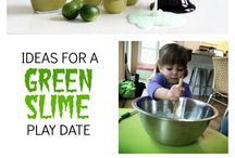 Playdate Ideas / Ideas for décor, food, activities, crafts and games for playdates with kids.