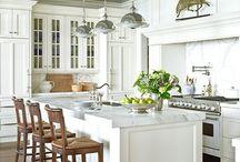 dream kitchens / by Heather Krohn