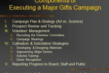 Business- Fundraising, Major gifts