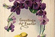 Gamla påskkort