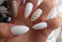 Biele nechty