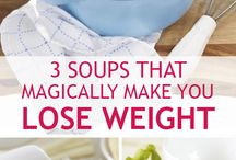 Weightless soups