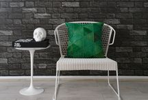 Textured Wallpapers / Concrete and Brick scalable/repeatable wallpapers.