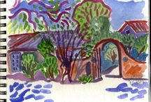 Watercolor Sketchbooks
