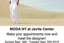 Eva Varro at MODA NY Javits Center! / Make Your Appointment and Meet the Designer Eva Varro!