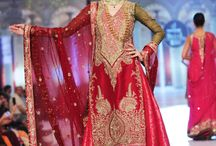 Pakistani Dresses Wedding Red