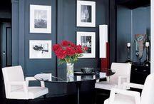 Interiors   black   2 / by Denise Dag