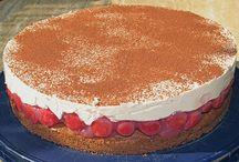 Cappuccino  kirsch Torte