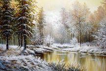 Зима в живописи