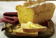 Brot als beilage zu. Grillen