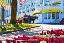 Mackinac Island in Northern Michigan / Scenes from beautiful Mackinac Island