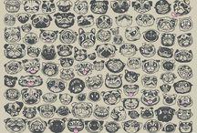 Pugs <3  / by Sydnee Mymko