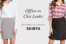 Chic & Casual Skirts Collection / CHIC & CASUAL CUSTOM-MADE SKIRTS.  For more information, click here: http://www.sumissura.com/en/collections/custom-skirt/chic-casual-skirts