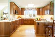 American Traditional Kitchen in Malvern, PA / This American Traditional style kitchen was designed and built in Malvern PA by HomeTech Renovations design/build firm.