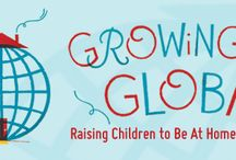 Global & Diverse kids / Celebrating and discussing diversity and exploring our child's place in the world through play