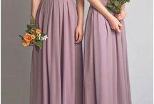 bridle maids dresses