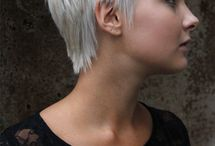 short grey gray hair styles / by Charlene D'Eon-Weis