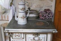Old beautiful stoves