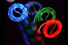 LED USB Cables / LED4Fun® | LED Products & LED Party Supplies Shop for awesome LED products online! LED party supplies, LED accessories, LED toys, LED ice cubes... All in LED4Fun! Let's enjoy the light! www.iLED4Fun.com