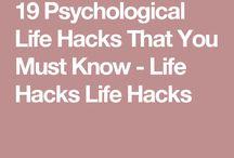 Physical hacks