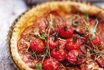 Tartes aux tomates-thon-chèvre