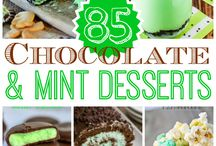 Minty Chocolatey Goodness! / All foods mint and chocolate.