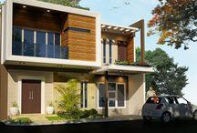 atchitecture home exterior facade batam / 082391343181 line: aldobhimara