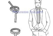 noeuds foulards