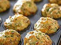 Feta spinach muffin