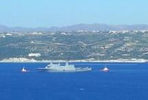 Villa Amalia - Souda Bay View / This is the view villa Amalia offers to its guests ... Souda Bay and Akrotiri peninsula