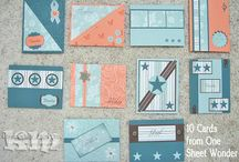 Stampin' Stuff-One Sheet Wonder / by MaryAnn Hilleary