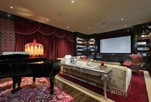 Theatres / Featuring high-tech home entertainment and movie theatre systems from properties represented by Hilton & Hyland
