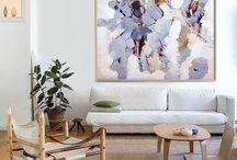 Art that matches the sofa