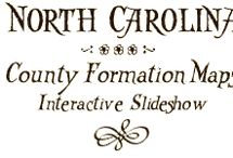 North Carolina Maps for Genealogists / Maps for the researcher with North Carolina ancestors. / by Lisa Lisson