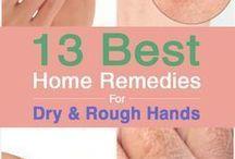 Dry hand treatment