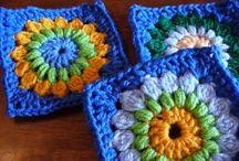 Granny squares / Een selectie van de leukste