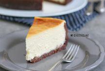 Käsekuchen | Cheesecake / Egal ob saftiger Käsekuchen mit Quark, wie von Oma. Oder cremiger Cheesecake wie aus New York, mit Frischkäse. Auf dem Board geht es um die besten Käsekuchen und Cheesecakes!