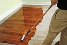 How to refinish the floor