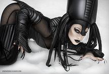 inspiration for cyberpunk art