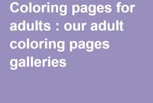 Crafts - Coloring - Adult