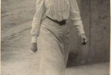 Vintage fashion: 1900s