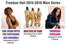Specials / Freedom Hall Season Tickets Season Ticket Subscribers get the BEST PRICE and BEST SEATS to our Main Series Choose 3 main series shows and save $12. To become a season ticket subscriber, call our box office at 708.747.0580.