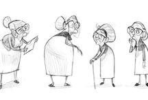 Character Design - Seniors
